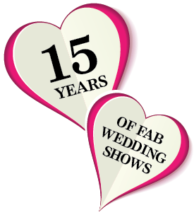 Hearts With Writing Inside Them Celebrating 15 Years Of Wedding Shows