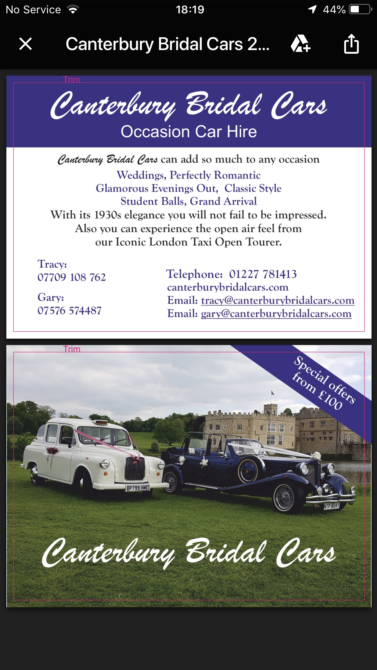 Canterbury Bridal Cars