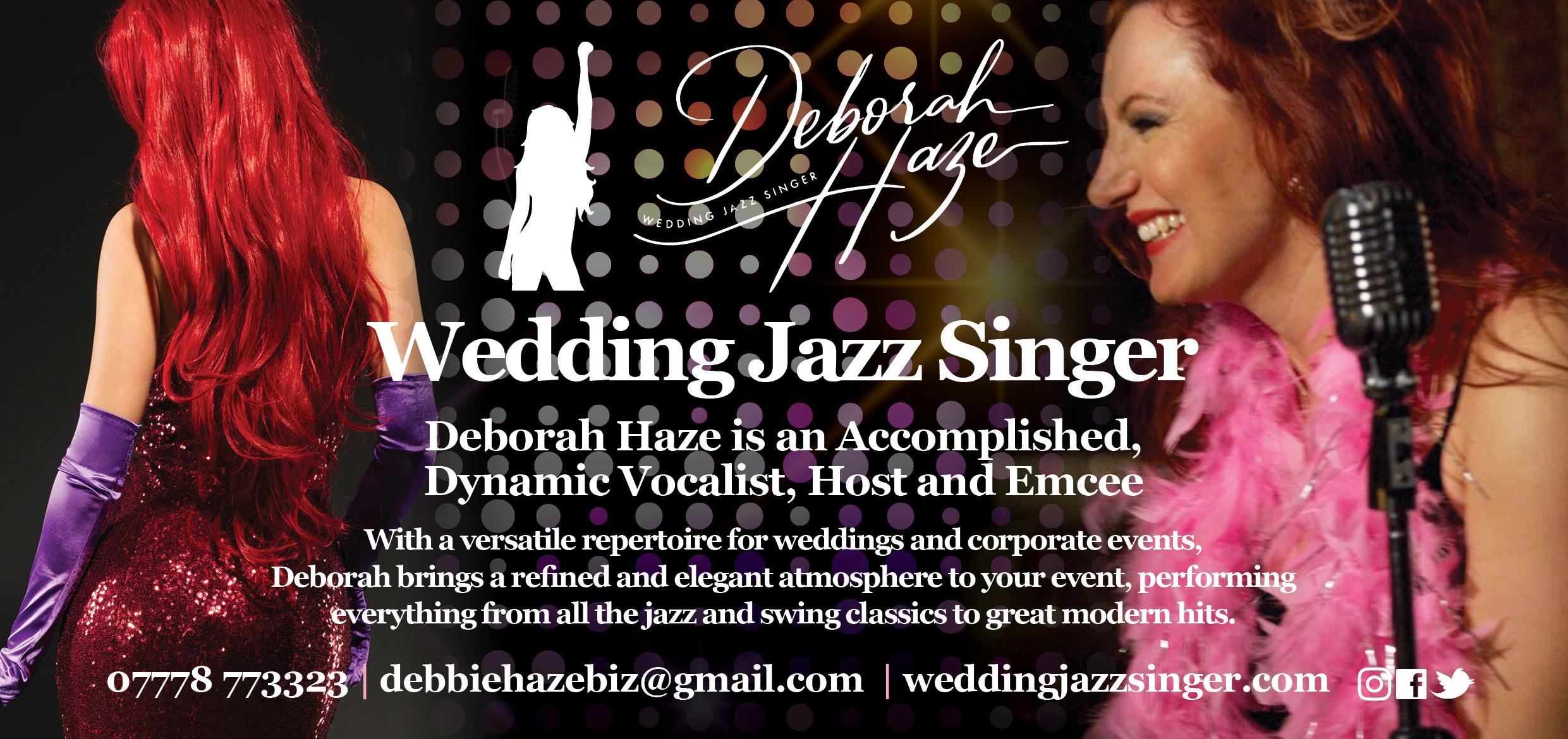 Deborah Haze Wedding Jazz Singer