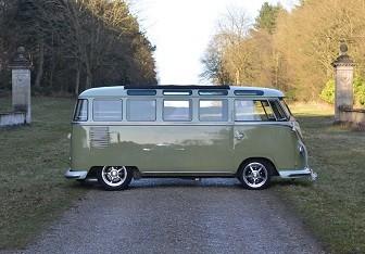 VW Classic Camper Weddings